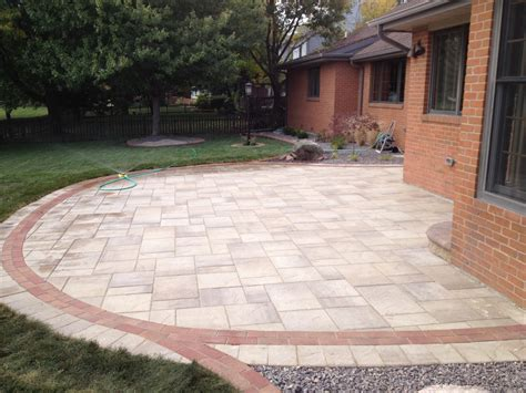 others large concrete pavers for quickly create a patio