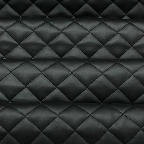 Pleather Upholstery Fabric by Quilted Faux Leather Leatherette Car Interior Soft