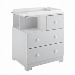 Table A Langer Grise : commode langer bali grise et blanche poyet motte ~ Teatrodelosmanantiales.com Idées de Décoration