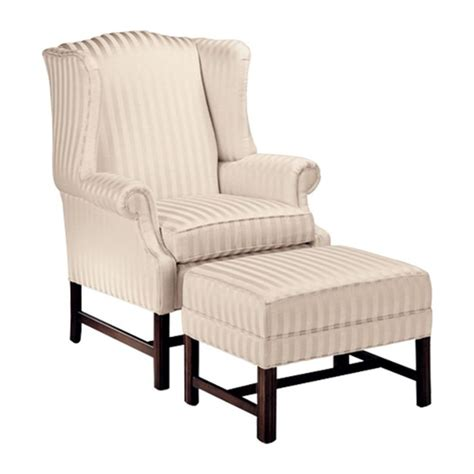 ethan allen wingback chair leather ethan allen milford wing chair living room of the