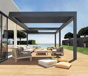 pergola veranda rideau ma pergola With rideau pour pergola exterieur 10 pergolas alu