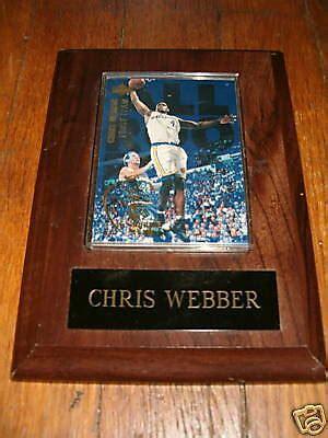 We did not find results for: CHRIS WEBBER UPPER DECK BASKETBALL CARD PLAQUE ROOKIE   eBay
