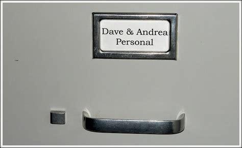 file cabinet label my organized files andrea dekker