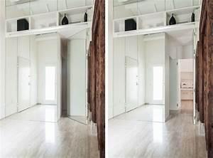 Armoire Dressing Blanche : d coration int rieur rappelant les appartements de vacances ~ Premium-room.com Idées de Décoration