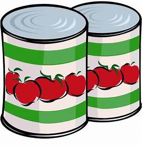 Canned Goods Clip Art - ClipArt Best