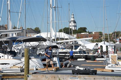 Annapolis Boat Show Parking by Complete Coverage 2015 U S Sailboat Show In Annapolis