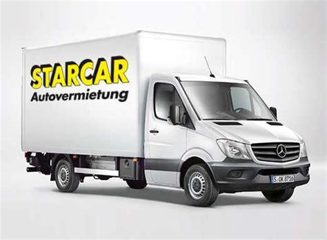 Lkw  Transporter Mieten In Hamburg Starcar