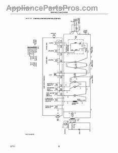 Parts For Frigidaire Cfmv152clba  Wiring Diagram Parts