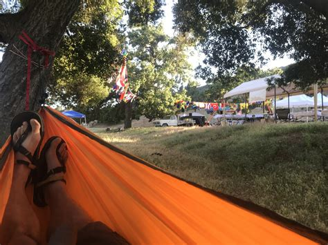 Hammock Cing Setup by Born To Run 2018 The Runderful