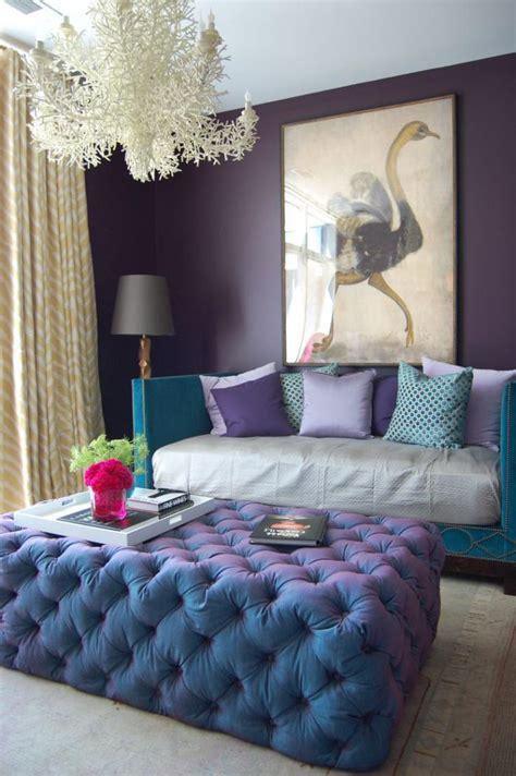 pouf pour chambre la chambre violette en 40 photos archzine fr