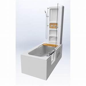 Cabine De Douche 170x80 : baignoire douche ~ Edinachiropracticcenter.com Idées de Décoration