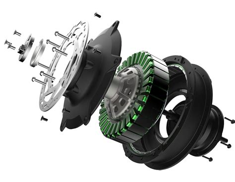 E Bike Electric Motor by Accell Launches E Bike Motor With Integrated 5 Speed Gear