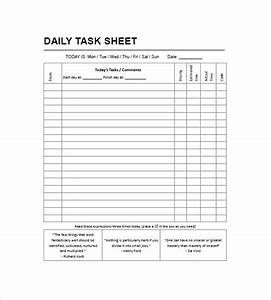 daily task list templates 8 free sample example With template for daily tasks