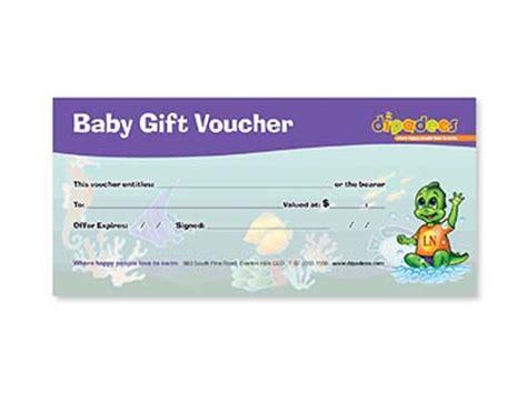 baby gift voucher