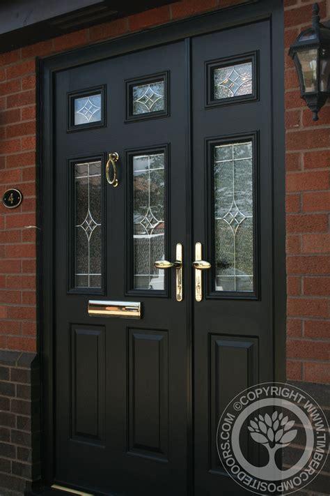 solidor tenby black timber composite door  door   day timber composite doors blog