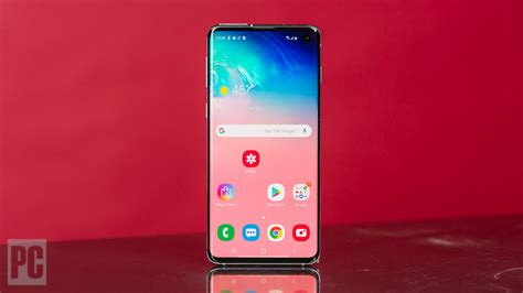 samsung galaxy s10 review rating pcmag