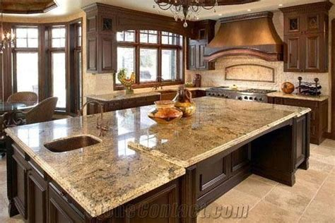 Granite Kitchen Countertop,kitchen Island Top From China