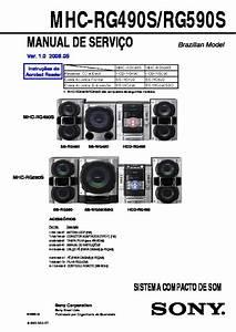 Sony Mhc-rg490s  Ss-rg490  Ss-rg490av  Ss-rg490s  Ss-wg490  Ss-wg490s Service Manual