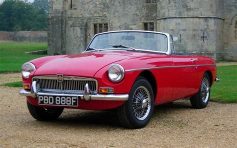 Mg 1968 Mgb Roadster Full Hd Wallpaper And Background
