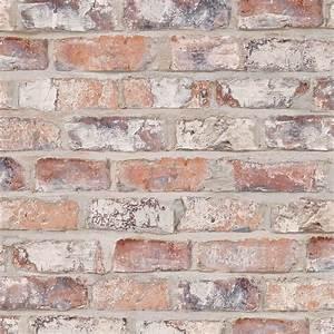 Brique De Parement Blanche : papier peint new brique vinyle sur intiss imitation ~ Dailycaller-alerts.com Idées de Décoration
