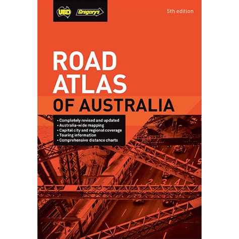 road atlas  australia guide book  edition big