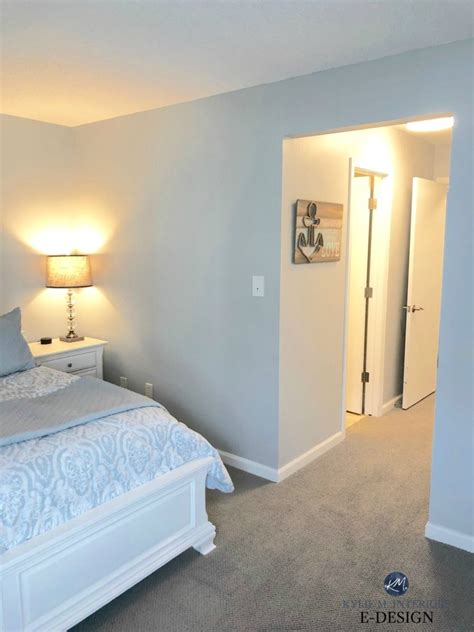 bedroom  sherwin williams tinsmith  gray paint