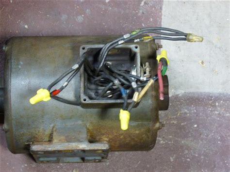 wiring diagram   volt single phase motor