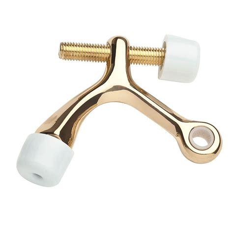 hinge door stop baldwin polished brass hinge pin door stop 9br7011 004