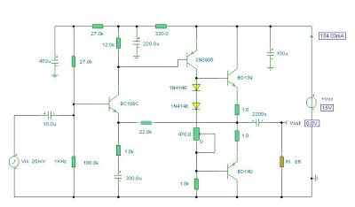 Watt Audio Amplifier Another Electronics Circuit