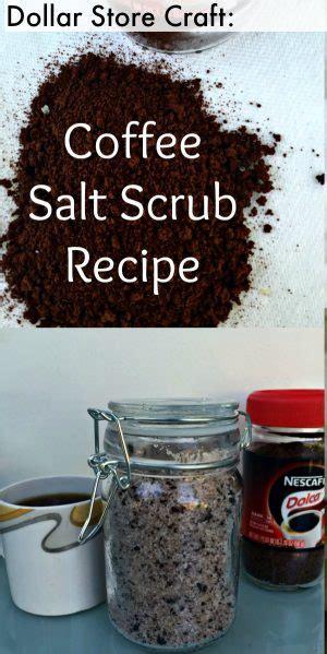 minute diy coffee coconut sea salt scrub recipe