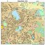 Wakefield Massachusetts Street Map 2572250