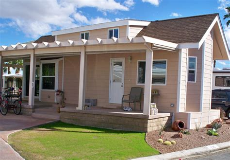 mobile home exterior remodel ideas
