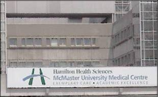 ch hamilton health sciences corporation mcmasters