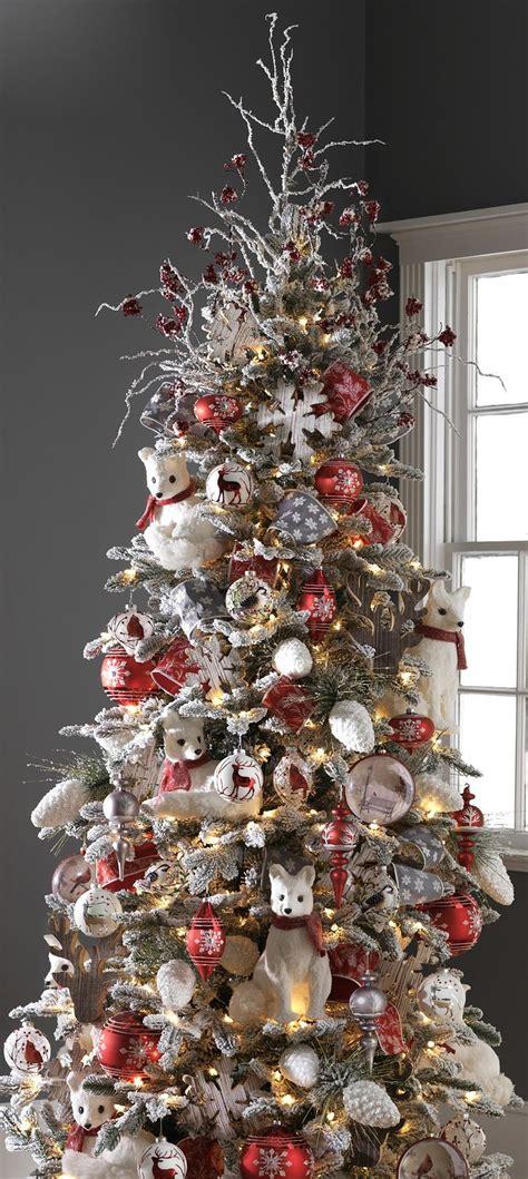 christmas themes ideas raz imports 2015 graphic woodland tree raz 2015 trees tree decorations