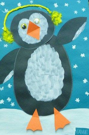Penguin Arts and Crafts Projects for Kids