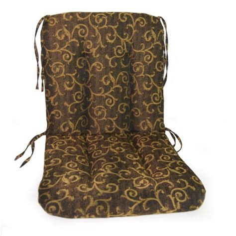 wrought iron high back chair cushion river
