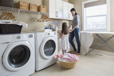 Washing Machine And Dryer Safety In The Laundry Room