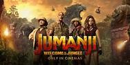 Jim's Movie Reviews - Jumanji: Welcome To The Jungle