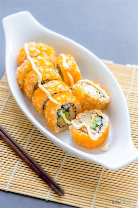 boston roll recipe sushi   shrimp avocado