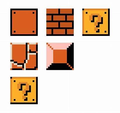 Mario Pixel Blocks Maker Pixelartmaker Birthday Stuff