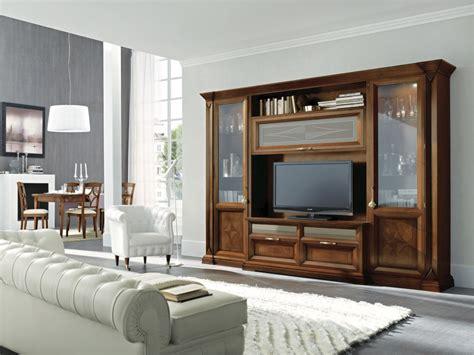 arredamento pareti attrezzate consigli per la scelta delle pareti attrezzate classiche
