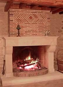 Peindre Des Briques De Cheminée : cheminee brique ~ Farleysfitness.com Idées de Décoration