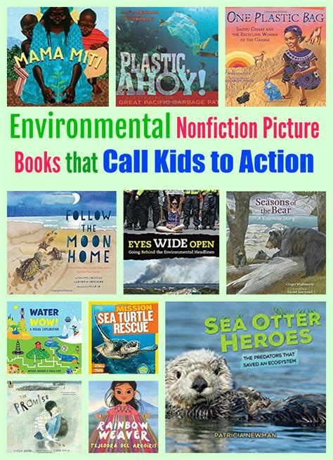 Environmental Nonfiction Picture Books That Call Kids To