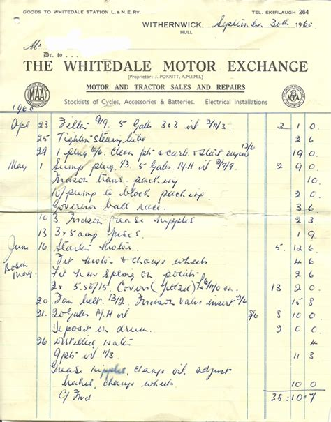 Bills Garage by Whitedale Garage Bill