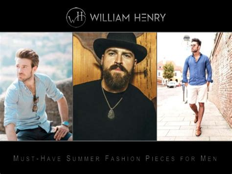 Must Have Summer Fashion Pieces For Men
