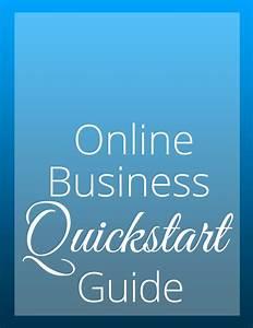 Online Business Quickstart Guide