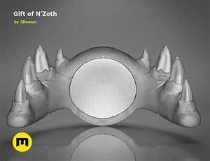 gift of n zoth world of warcraft 3demon 3d print