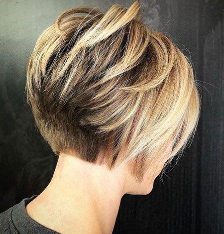 suesse kurze haarschnitte fuer dickes haar bob frisuren