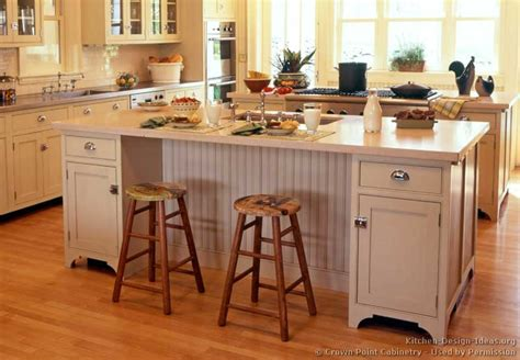 kitchen island pics pictures of kitchens traditional white antique