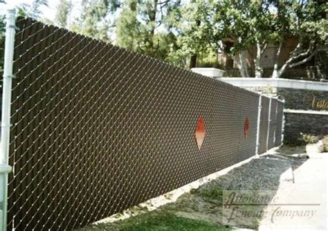 be inspired a chain link fence is a blank canvas fence